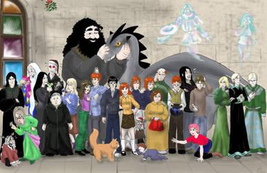HP- Merry Xmas by Aedua