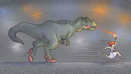 Run T-Rex Run by Aedua