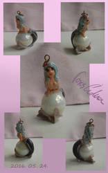 Mermaid pendant by Aedua