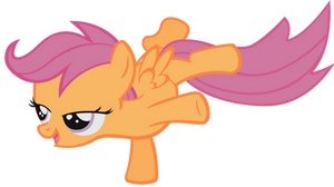 Scootaloo Vector by tootootaloo