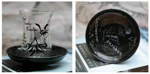 The Hobbit Glass by Einaari