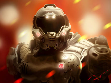 Doom Guy by Yowhatsupbro