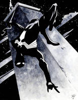 Black Suit Spider-Man by IanJoswick