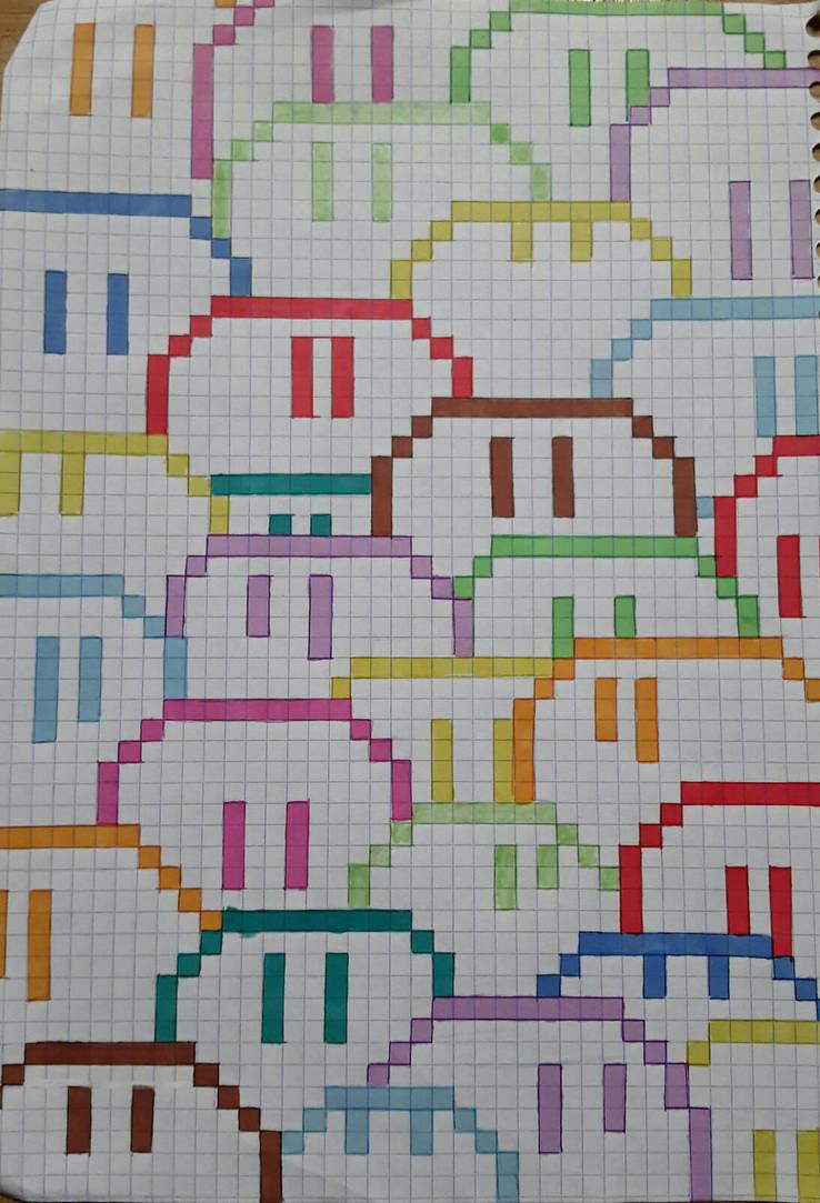 Pixel Dango Daikazoku Inktober 19 By Henori Cat On Deviantart