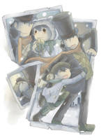 professor layton 3 gallery by PAPAWS