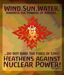 Heathens vs Nuclear Power 1 by Meredyth