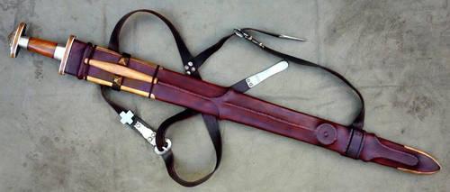Gutenstein Style Sword Scabbard by Meredyth