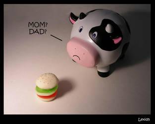 The sad cow by lexidh