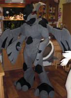 WIP - Zekrom Suit by FlameTorchic