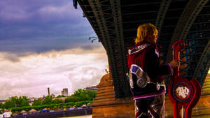 Xenoblade Shulk Cosplay by FlameTorchic
