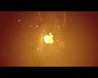 iPod + iTunes Ad Wallpaper by Oliuss