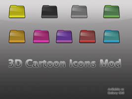 3D Cartoon Folder Icons Mod by Oliuss