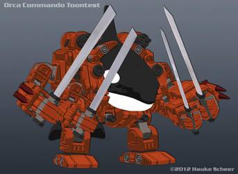 Orca Commando Toontest by hauke3000