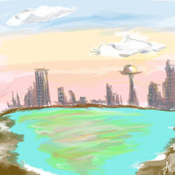 Brave New World _Speed Paint by AynElf