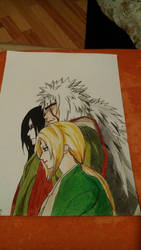 Three Legendary Sannin by GiGaAnime