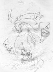 Post Apocalypse Sketchy by vergeofsanity