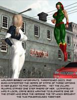 Walkiria vs Ultrawoman 1 by Teri-Minx
