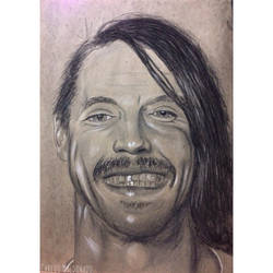 Anthony Kiedis-Red Hot Chili Peppers by yeye-cm