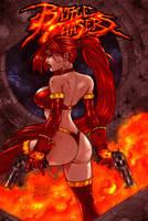Red Monika colors rev. by jkrojmalart