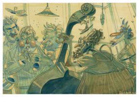 Quintet by adrianperezacosta