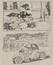 Monociclo III by adrianperezacosta