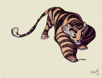 Daily Design: Tiger by sketchinthoughts