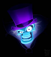Hatbox Ghost by sketchinthoughts