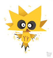 Zapdos by sketchinthoughts