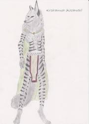 Ko'sh'arrush (Fan Character) by Kythl-Moonpaw