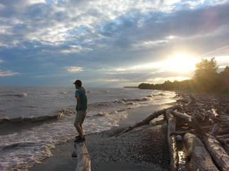 Hidden Beach by Kythl-Moonpaw