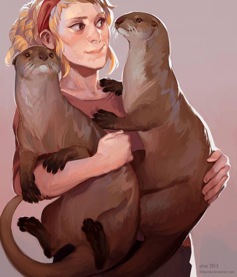 something otter by littleulvar