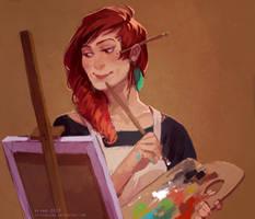 comm: paint by littleulvar