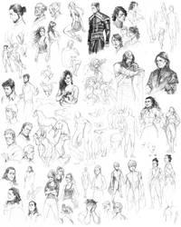 sketchspam IV by littleulvar