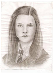 Ginny Weasley by Finduilas-Estel