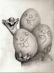 Sid with Eggs by Finduilas-Estel