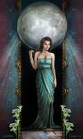 Goddess by crayonmaniac