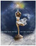 Yoga poster by crayonmaniac