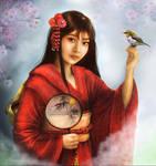 World Beauties Japan by crayonmaniac