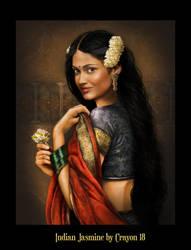 Worldseries 7 - Indian Jasmine by crayonmaniac