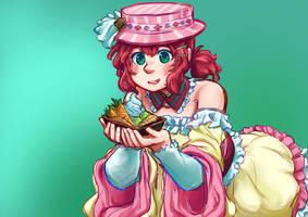 Sugar Sweet Confectioner Ruby by vividgrim