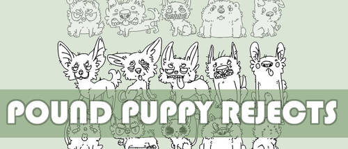 Pound Puppy Rejects by JustPepo