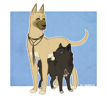 Sparty Dogs - Nagron by Kumilch