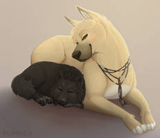 Sparty Dogs - Sleep Time by Kumilch
