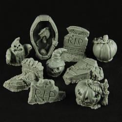 Halloween Basing Kit by RistulsCreations