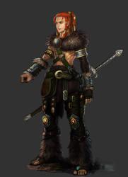 viking man by hoxiaowei