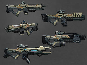 HiTechWeapon-Line-Value Concept by hoxiaowei