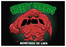 Lava Monster by elbruno