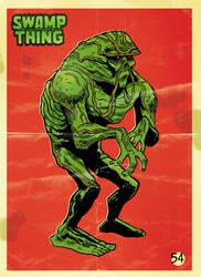 Swamp Thing by elbruno