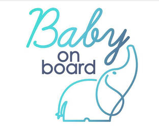 Baby On Board Graphic by dippydude