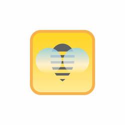 Bumble Bee Logomark by dippydude